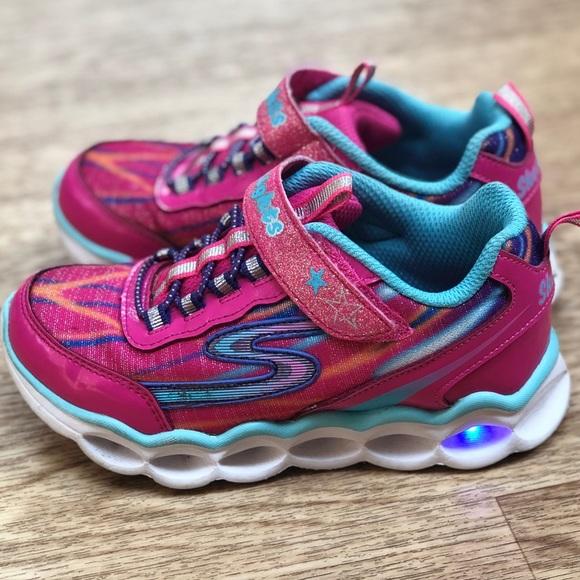 Sketchers lights girls shoes